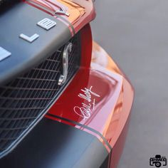 Shelby GT500 with Carol Shelby Autograph