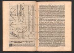 "Vitruvius, ""De Architetura libri decem"" published by Daniele Barbaro in Venice in 1567"