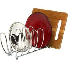 Wire Lid & Cutting Board Stand