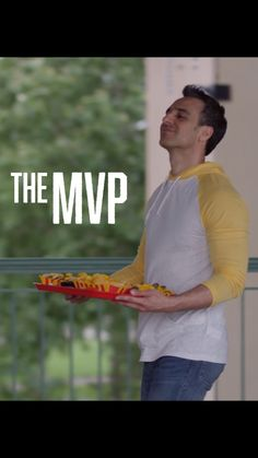 If you're always scoring nachos for your crew, then you're a Nacho MVP! Who doesn't love being the MVP? Nachos, Mexican Food Recipes, Mexican Recipes