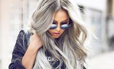 Haare grau färben: 2 InStyle-Redakteurinnen haben es ausprobiert