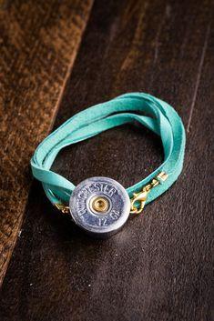 Shotgun Shell Wrap Bracelets on BourbonandBoots.com