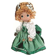 Precious Moments Kylie of Ireland Girl Doll, 2011-2013 has just come in. She is Item PMC0802A at our Tias site, http://www.donnaskorner.com. She goes with PMC0802B, the Kyle boy doll of Ireland.