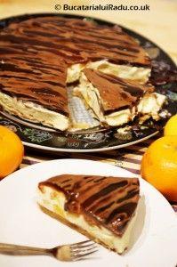 Cheesecake cu caramel. Fructe si jeleu de cafea optionale. Caramel, Tiramisu, Cheesecake, Cooking, Ethnic Recipes, Food, Cheesecake Cake, Baking Center, Toffee