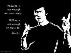 Bruce Lee is a great source of fantastic motivational quotes.
