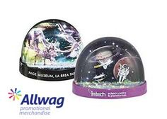 Get lost in a #promotional glitter storm this #Christmas with our Midi Glitter Storm dome!
