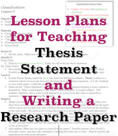 Featured Lesson Plan Pinterest