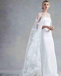 Oscar de la Renta Fall 2017 Wedding Dress Collection   Martha Stewart Weddings – Strapless sheath wedding dress