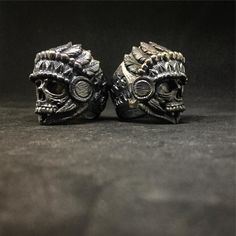 Brews brothers. Custom rings in bronze and silver for the boys at @joesbrew #skullring #skullrings#skullart#customring#customjewelry#skull#joesbrew #joesbrewph#mementomori #beer