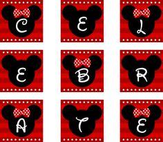 Minnie Mouse Roja