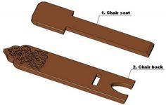 Bog chair plan - Parts list