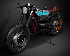 Stunning Honda Electric Cafe Racer Concept – Fubiz Media