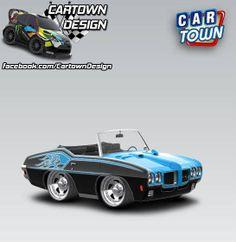 Pontiac GTO Convertible 1970 - Two Tone