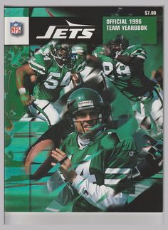 65b6a1fb668 new york jets official 1996 yearbook - #vintage jets from $12.0