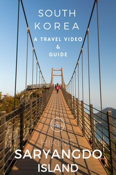 A Travel Video Guide of the BEST day hike in Korea. Little known, even in this hiking obsessed country, Saryangdo Island Ridge Hike is absolutely worth the effort to get to. Watch the video, read the guide and join the adventure!   Travel Video   GoPro Video   Hiking Korea   South Korea Islands   South Korea Beautiful Places   Hiking Asia   Hiking Guide   South Korea Nature #hikingkorea #travel #koreatravel #hiking #gopro #travelvideo