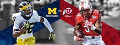 Who has the edge when the #Wolverines and the #Utes face off? UteReport's Brian Swinney gives his expert analysis.