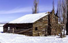 Abandoned Beauty - Abandoned home stead located near Post Oregon.