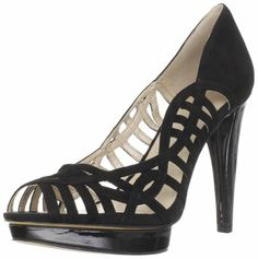 Nine West Women's Speedup Pump,Black Suede,7.5 M US