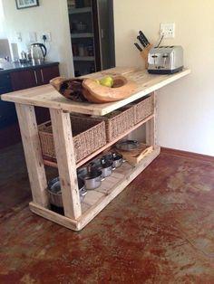 Pallet #Kitchenette - Pallet #Kitchen Ideas | Pallet Furniture