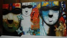 Image result for FAMOUS ARTISTS OF CONTEMPORARY BENGAL ART