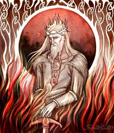 """In Norse mythology, Loki's father is the Jotun Farbauti (Farbauti by UnripeHamadryad on DeviantArt). Loki is called """"Laufeyson"""" (Poetic Edda) or """"Laufeyjarson"""" (Prose Edda) in Norse mythology because his MOTHER'S name was Laufey."""