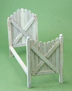 how to: picket fence bed