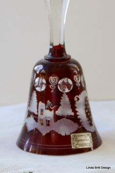 Glass Bell - Deer and the Castle Design