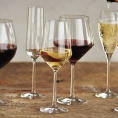 Schott Zwiesel Pure Light-Bodied Red Wine Glasses, available at #surlatable