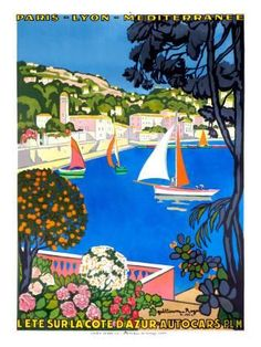 L'Ete Sur la Cote D'Azur Giclee Print - at AllPosters.com. Choose from over 500,000 Posters & Art Prints. Value Framing, Fast Delivery, 100% Satisfaction Guarantee.