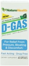 Anti-Gas, Anti-bloating, Digestive Aid - Fast Acting Pills Review #DGASNature