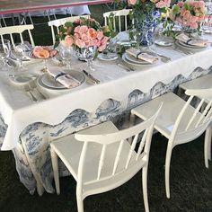 #hamptons #hamptonsclassic #tabletop #tabledesign #blueandwhite #traditional…