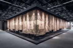 The Lobby   RC pavilion at Cersaie 2015 on Behance