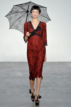Sfilata L'Wren Scott Londra - Collezioni Primavera Estate 2014 - Vogue