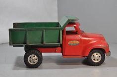 Vintage 1954-55 Tonka Toys Dump Truck Pressed Steel Toy