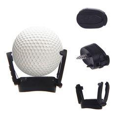 New Golf Ball Pick Up Tool Back Saver Putter Pitch Grip Retriever Grabber Black #UnbrandedGenenic