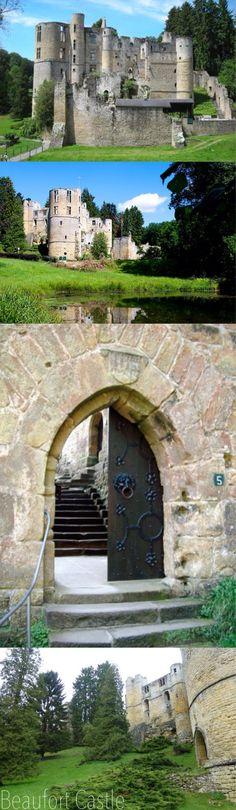 Luxembourg , Beaufort Castle