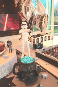 DETALHES STAR WARS PARTY ...