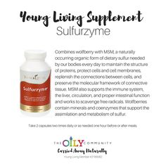 Sulfurzyme Young living supplement for immune support, digestive support, for hair nails and skin and so much more! #carriedawaynaturally #oily #yleos #youngliving