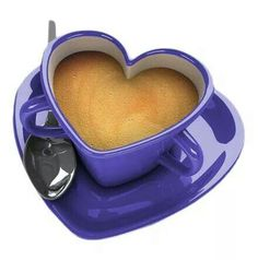 ...coffee in a heartcup