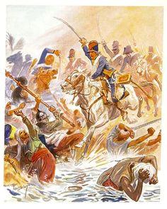 Ussari francesi in Egitto