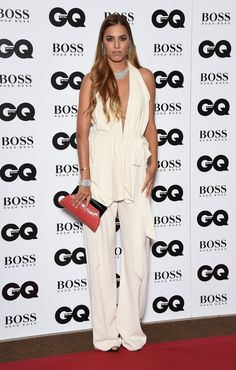 Pin for Later: All the Action From the GQ Men of the Year Awards Red Carpet Amber Le Bon