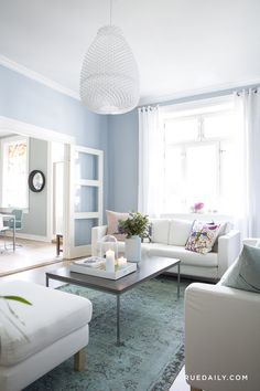 A Pastel-Perfect Norwegian Home | Rue