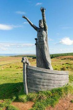Manannan Mac Lir statue [Courtesy of PSNI Limavady]