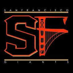 What a great SF Giants logo type! Sf Giants Logo, Giants Shirt, Mlb Giants, Giants Baseball, San Francisco Giants, San Fran Giants, Mlb Team Logos, Mlb Teams, Sports Logos