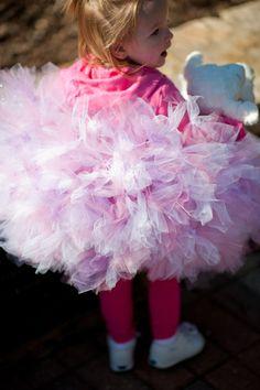 Toddler Beautiful Mauve and Pink FLUFFY Petti Tutu by IzzysCouture, $55.00
