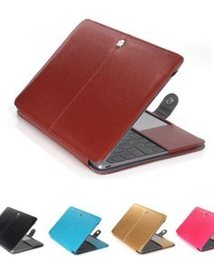 Leather Sleeve Case For MacBook Air 11, Air 13, Pro 13, Pro 15