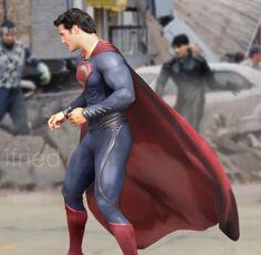 Superman (Kal-El) Man of Steel (Henry Cavill) #superman #manofsteel #kalel…