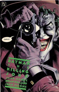 COMIC batman the killing joke #comic #cover #art