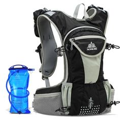 Unisex trail running hydration water backpack available in 2L and holds two  250ml bottles.  waterbottle  lifestyle  healthylifestyle  gymlife  gym ... 29892e5d66a32