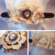 Vintage Lace Bracelets only $8.00 in four great styles